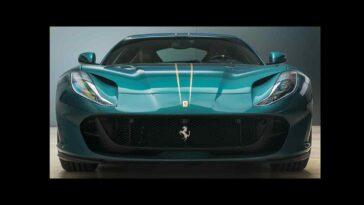 Ferrari 812 Superfast Verde Pino