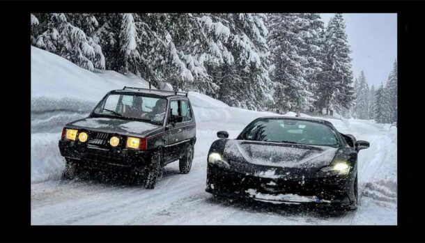 Fiat Panda 4x4 vs Ferrari SF90 Stradale