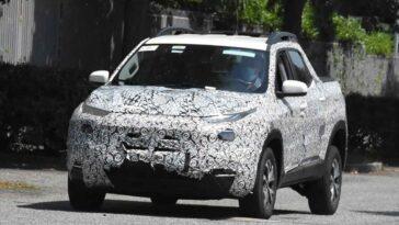 Fiat Toro 2021 - Foto spia