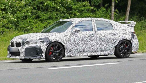 Nuova Honda Civic Type R 2022