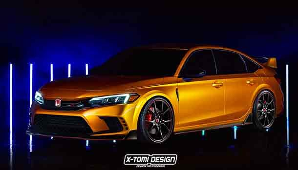 Honda Civic Type R 2022 - Render X-Tomi Design
