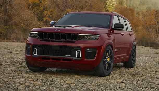 Jeep Grand Cherokee SRT Trackhawk 2022