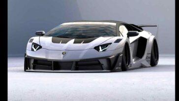 Liberty Walk - Lamborghini Aventador GT Evo