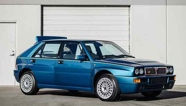 Lancia Delta HF Integrale Evoluzione II Blue Lagos