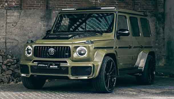 Mercedes Classe G 4x4 al quadrato 2022