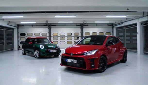 Mini John Cooper Works vs Toyota GR Yaris