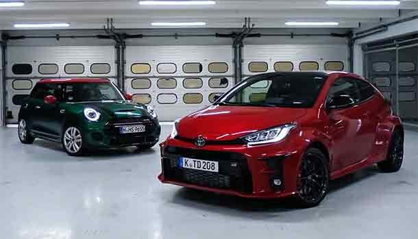 Mini John Cooper Works vs Toyota GR Yaris