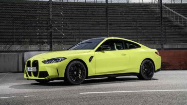 Nuova BMW M4 Competition