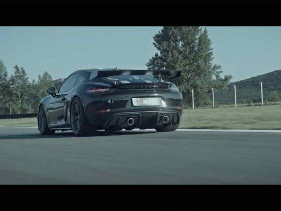 Porsche Cayman GT4 - Scarico Akrapovic