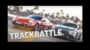 Porsche Panamera Turbo S vs Mercedes-AMG GT 63 S