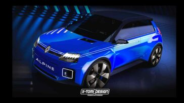 Renault 5 Alpine by X-Tomi Design