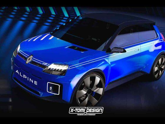 Renault 5 Alpine by X-Tomi Design