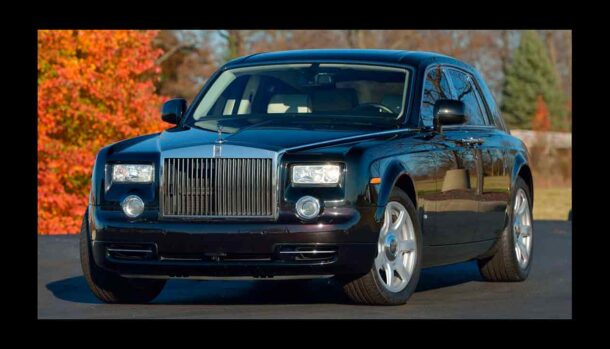 Rolls-Royce Phantom - Donald Trump