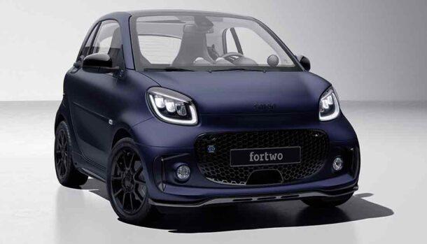 Smart EQ fortwo edition bluedawn