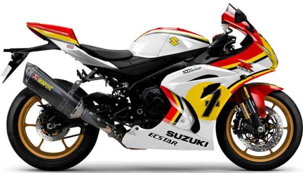 Suzuki GSX-R1000R Legend Edition Barry Sheene