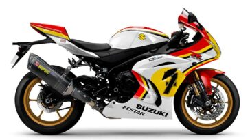 Suzuki GSX-R1000R Legend Edition Barry Sheene