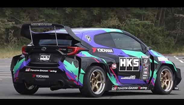 Toyota GR Yaris by HKS