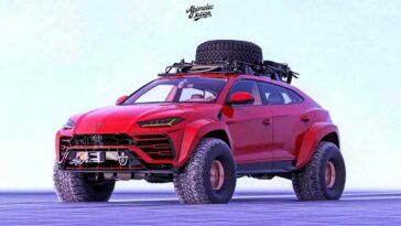 Lamborghini Urus off-road by Abimelec Design