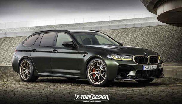 BMW M5 CS Touring
