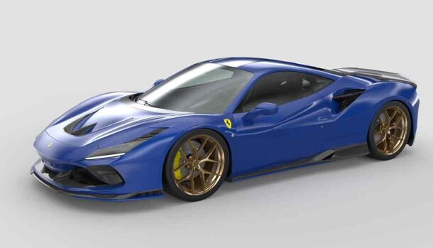 Ferrari F8 Tributo by 1016 Industries