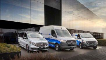 Mercedes-Benz - App gratuite per eSprinter, eVito ed EQV