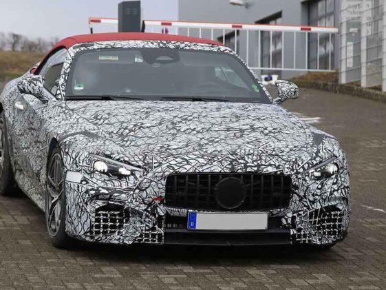 Mercedes SL 2022