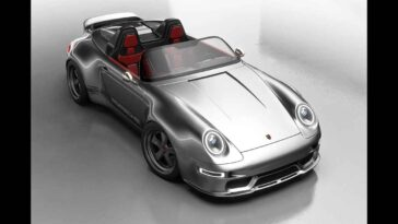 Porsche 993 Speedster Remastered by Gunther Werks