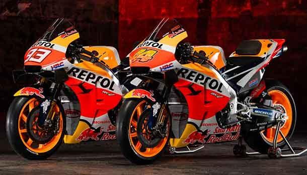 Repsol Honda Team 2021 - Honda RC213V