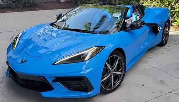 Sylvester Stallone - Chevrolet Corvette C8