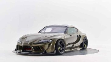 Toyota Supra by HGK Racing Team
