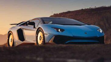 Lamborghini Aventador SV by HRE Performance Wheels