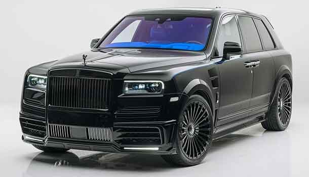 Rolls-Royce Cullinan by Mansory