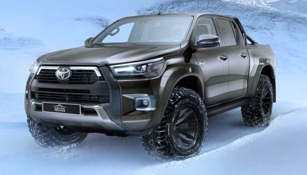 Toyota Hilux AT35 2021 by Arctic Trucks