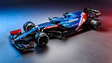 Alpine F1 Team A521