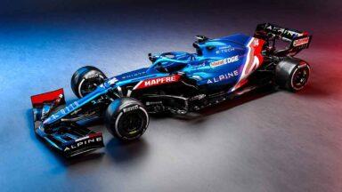 Alpine F1 Team A521