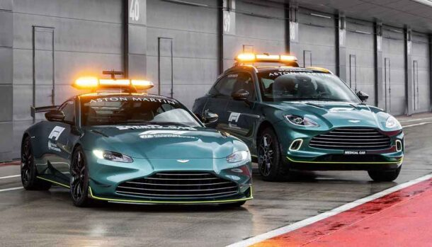 Aston Martin Vantage - Safety Car Campionato Formula 1 2021