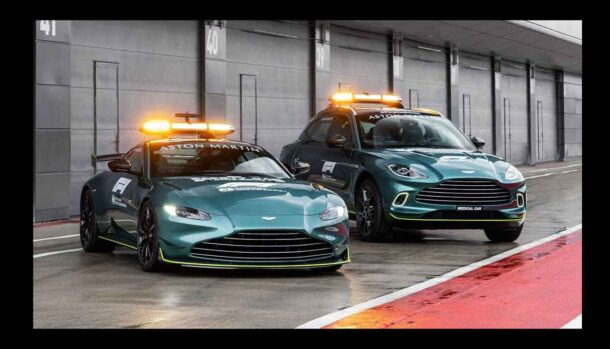 Aston Martin Vantage - Safety Car Campionato Formula 1 2021