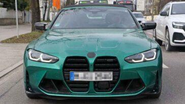 BMW M4 Cabrio 2022