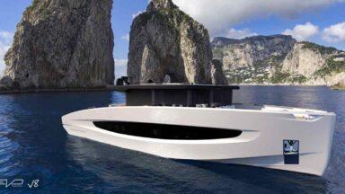 Evo Yachts - Evo V8