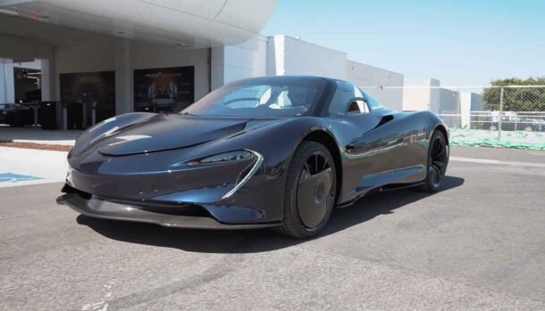 Manny Khoshbin - McLaren Speedtail Hermes