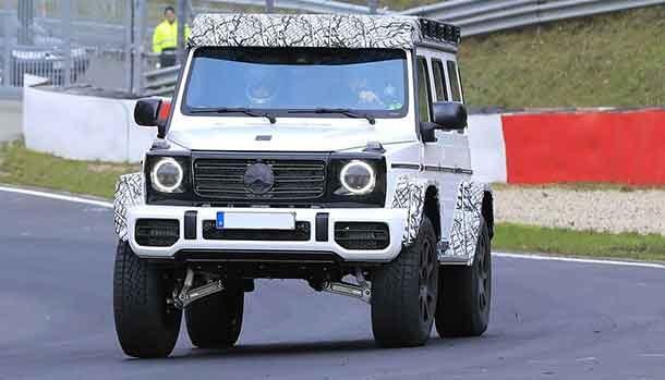 Mercedes Classe G al quadrato 2022