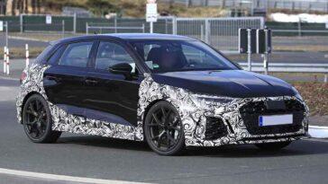 Nuova Audi RS3 2022 - Foto spia