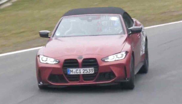 Nuova BMW M4 Cabrio 2022