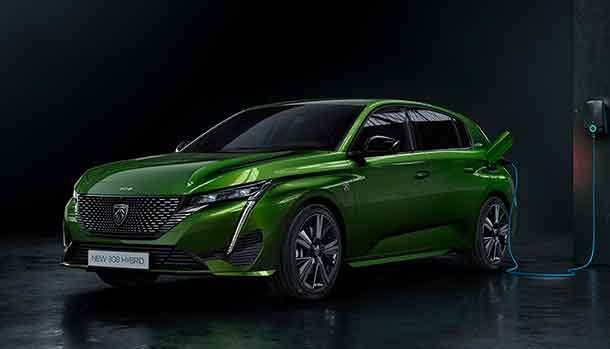 Nuova Peugeot e-308 2021