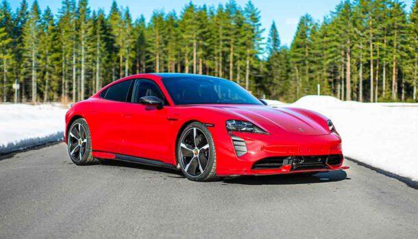 Porsche Taycan by Zyrus Engineering