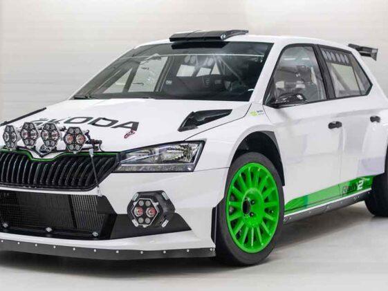 Skoda Fabia Rally2 Evo Edition 120
