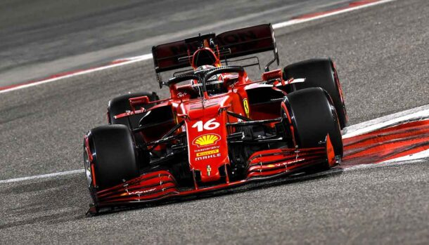 Test di F1 2021 - Ferrari SF21