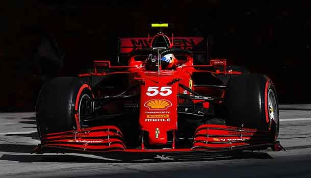 Test di F1 2021 - Ferrari SF21