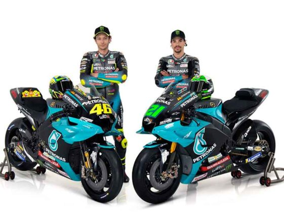 Valentino Rossi - Franco Morbidelli - Team Petronas Yamaha SRT