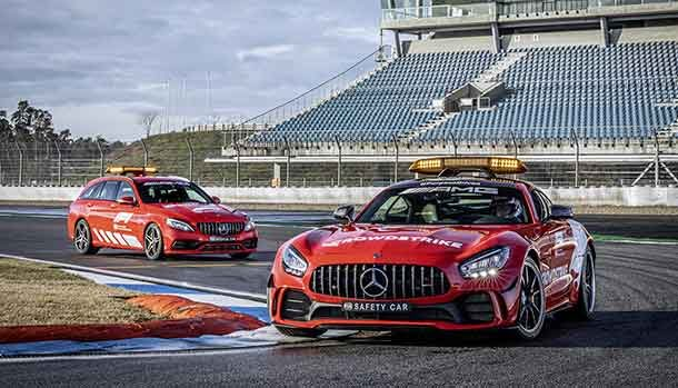 Mercedes-AMG GT R e C 63 S - Safety e medical cars F1 2021
